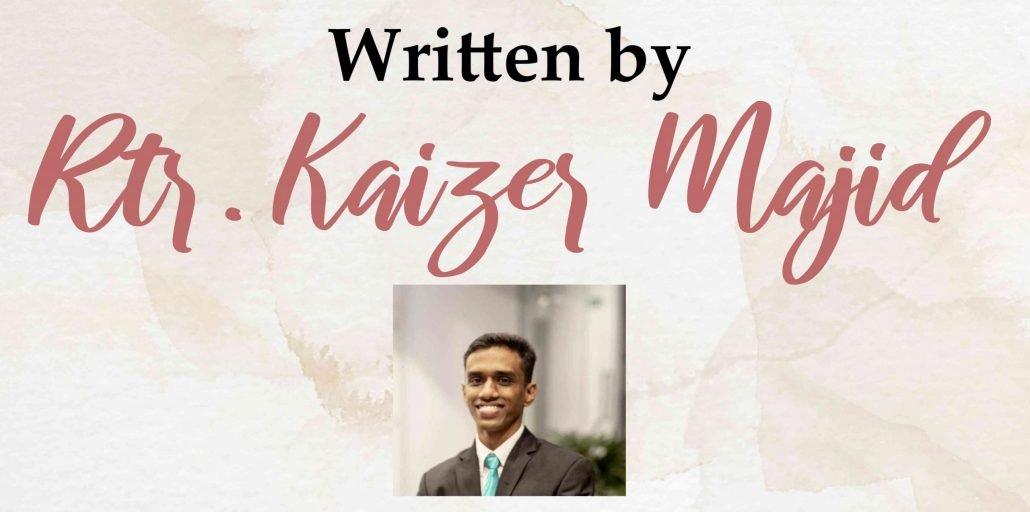 Written by Kaizer Majid