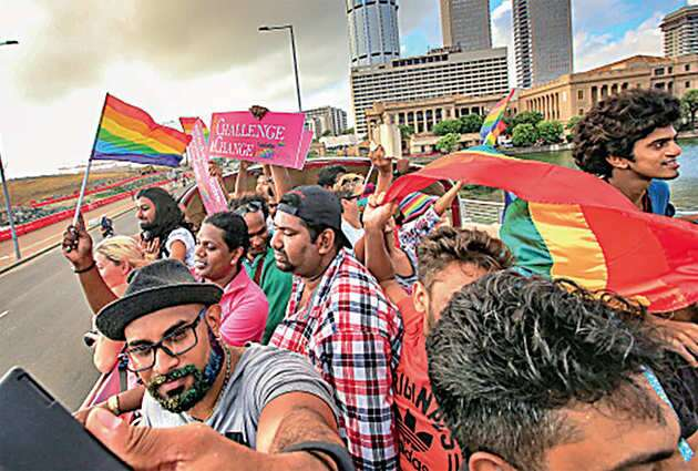 The Colombo pride parade sometime back.