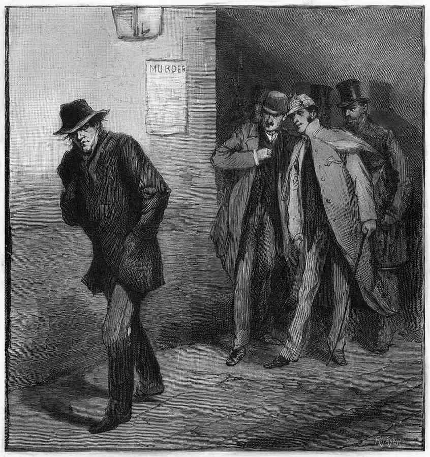 A What If illustration by The Illustrated London News.